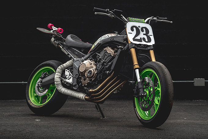 Il concorso Honda's Garage Dreams include 38 modelli di moto CB650R personalizzate